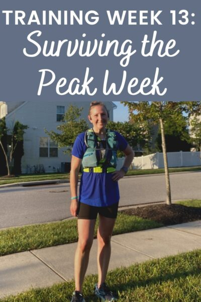 actually get my workouts done. Everything worked out for the most part and I got in my miles. But it was still an eventful week!