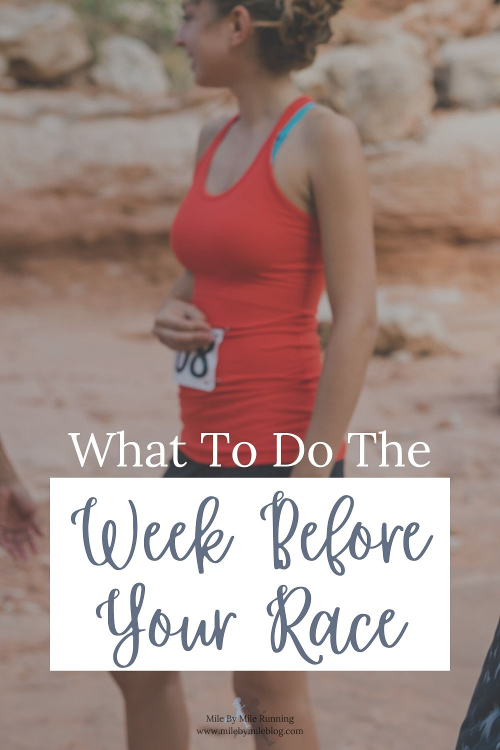 """As many of us are now back to in-person racing, we are all trying to remember all the logistics of how to prepare for a race. We talked about the taper period, but what are the last minute """"to-dos"""" that you should focus on during the last week before your race? This is usually when many of us are feeling anxious as the race is getting closer and we aren't running as many miles. Here are some ideas to keep you feeling positive, focused, and productive."""