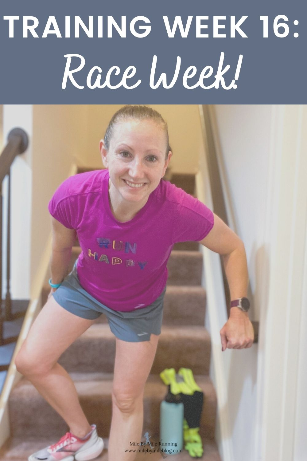 Somehow, after 16 weeks of training, it is already race week! I'm drafting this before my race and will just try to pop in Saturday afternoon to add some last minute updates. Hopefully by the time this goes live the race will successfully by completed! Let's take a look at training week 16: race week!